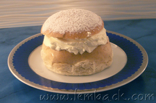 Swedish Cream Bun or Semla