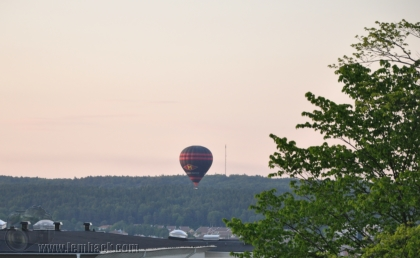 air balloon on summer solstice