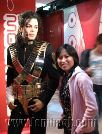 Michael Jackson at Madame Tussauds in Berlin