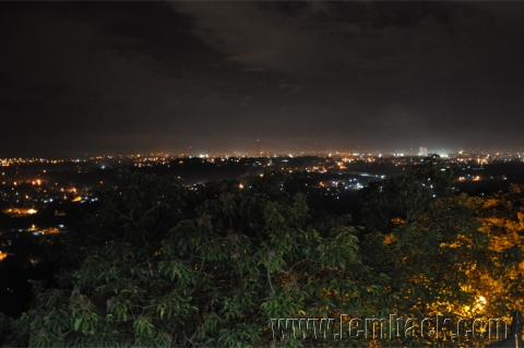 Overlooking Davao City from Jack's Ridge