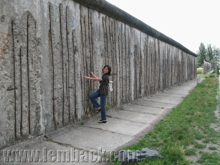 Ruins of the Berlin Wall