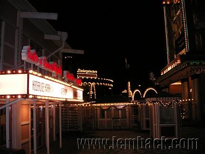 Lights outside Liseberg Theatre
