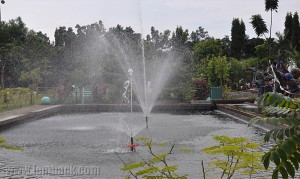 Fountain at People's Park