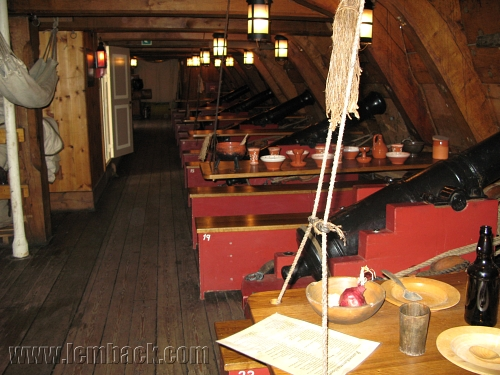 inside Ship Gotheborg