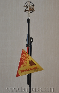 Toblerone hanging