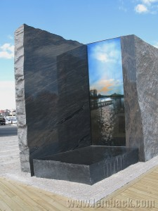 stone sculpture in Karlskrona