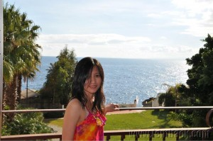 Me at the Grand Hotel Baia Verde