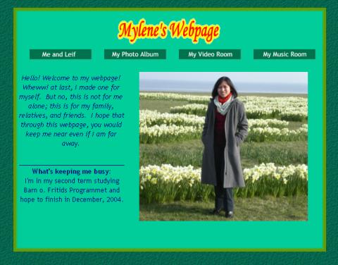 Lemback.com in 2003