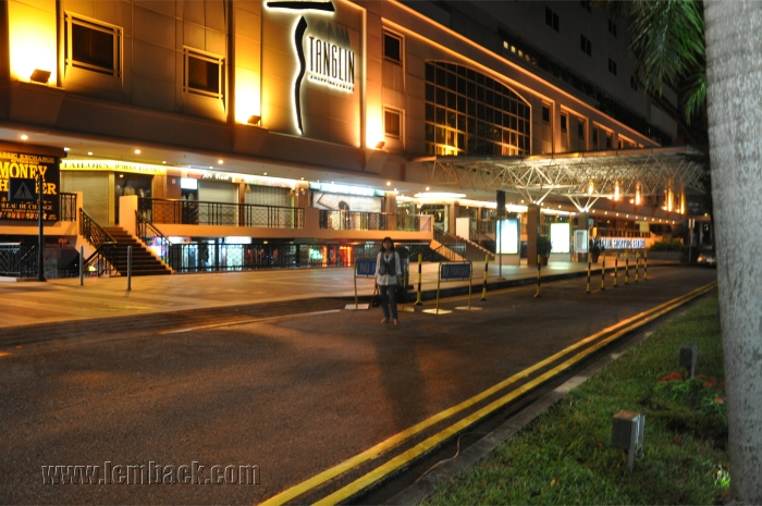 Tanglin Road By Night