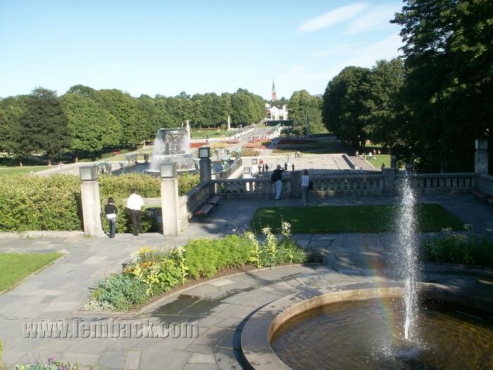 Vigeland Park-Oslo