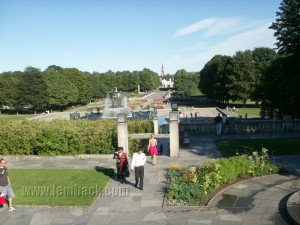 The Vigeland Park in Norway