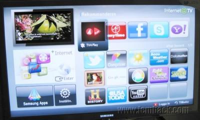 Samsung Smart TV Apps