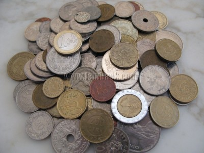 Coin collection - European coins