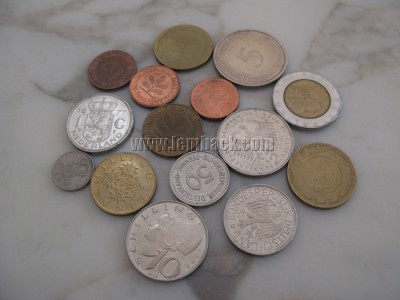 Coins collection - European coins