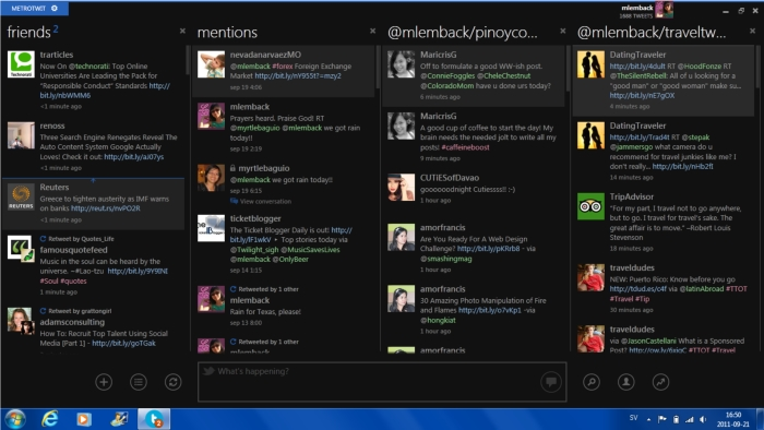 I Love Using MetroTwit