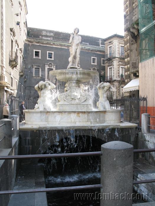 The Amenano Fountain