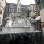 The Boy on the Amenano Fountain