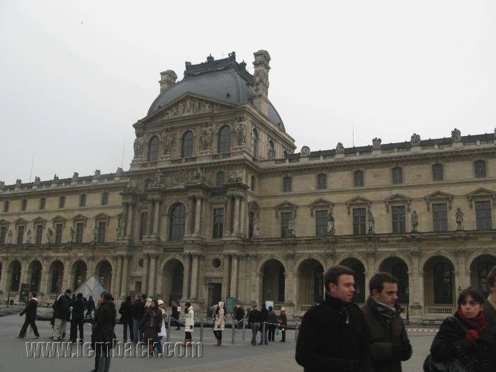 Around the Louvre