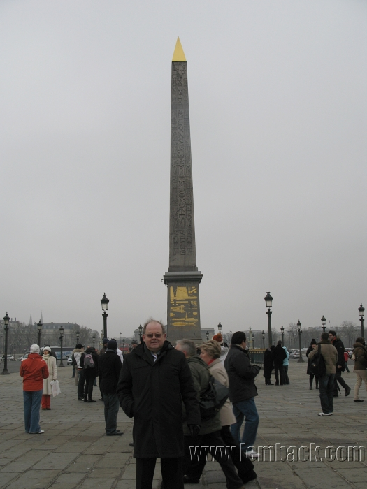 The Luxor obelisk in Paris