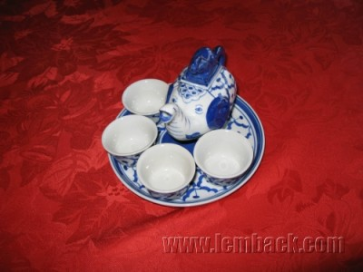Thai tea or sake set