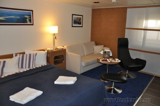 The Captain's Suite on Stena Baltica