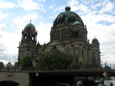 The Berlin Cathedral by the bridge