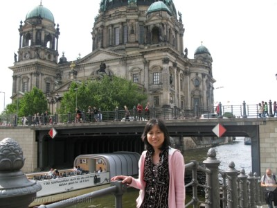 Me and the Berlin Cathedral