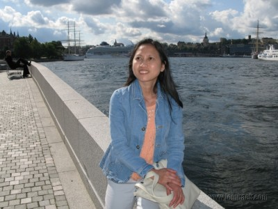 By the wharf - Stockholm