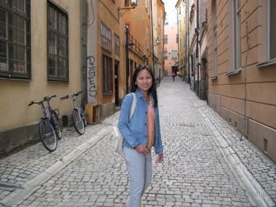 Stockholm - narrow street