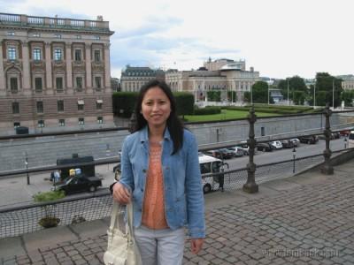 still at Kungliga slottet