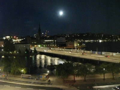 Stockholm summer night
