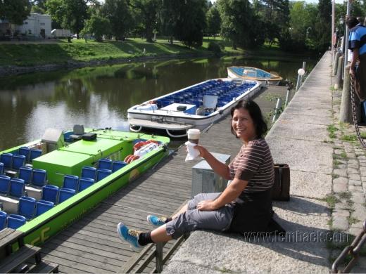 Gothenburg sightseeing boat Paddan