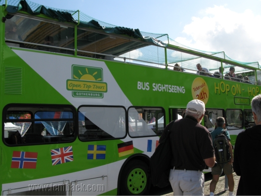Gothenburg sightseeing bus