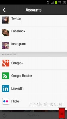 My social networks on Flipboard