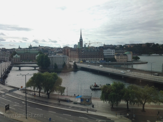 Stockholm - view from Sheraton Hotel