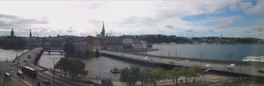 View of Stockholm's water