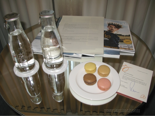 French Macarons in the room