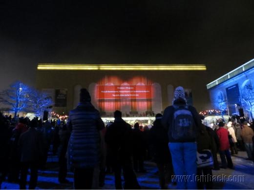 Film show at Götaplatsen - Gothenburg