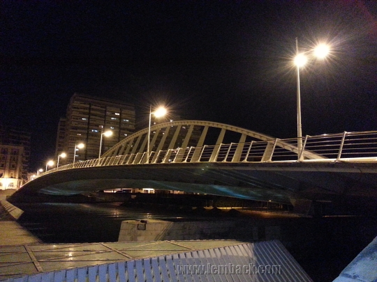 Alameda Bridge in Valencia, Spain