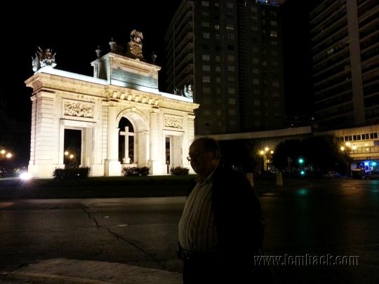 Puerta del Mar - hubby