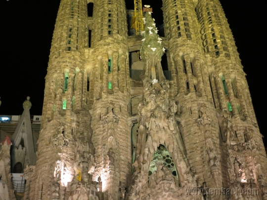 La Sagrada Familia Up Close