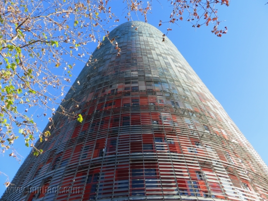 Torre Agbar by day