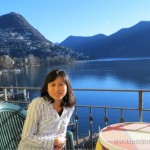 Lake Lugano in the Background