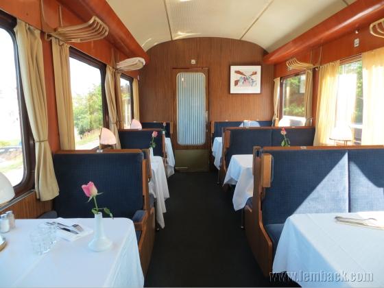 Blå tåget restaurant
