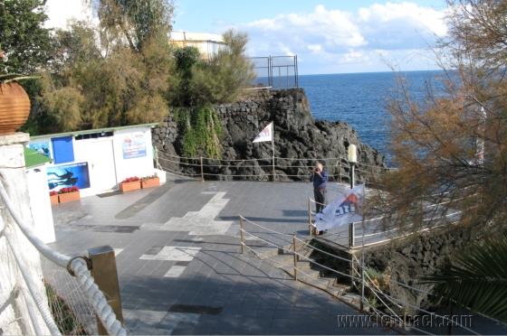 Hotel Baia Verde view