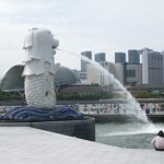 Singapore And Her Merlion