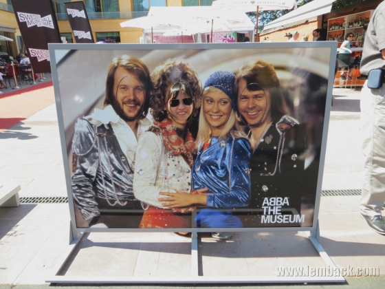 Outside Abba the Museum