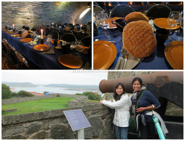 Lunch at Carlstens Fortress