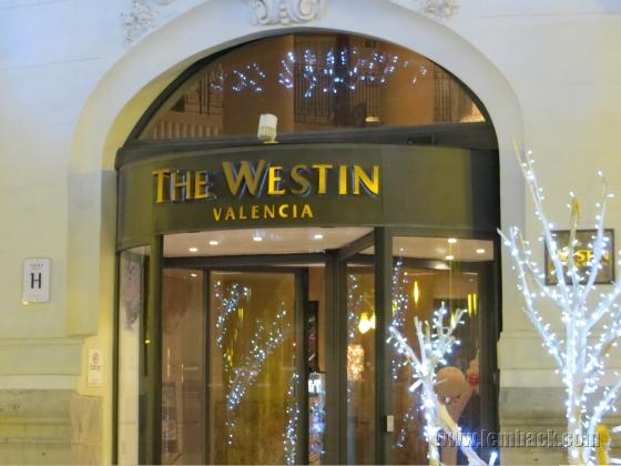 Westin Valencia entrance