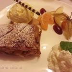 Our First Taste of Bavarian Apple Strudel